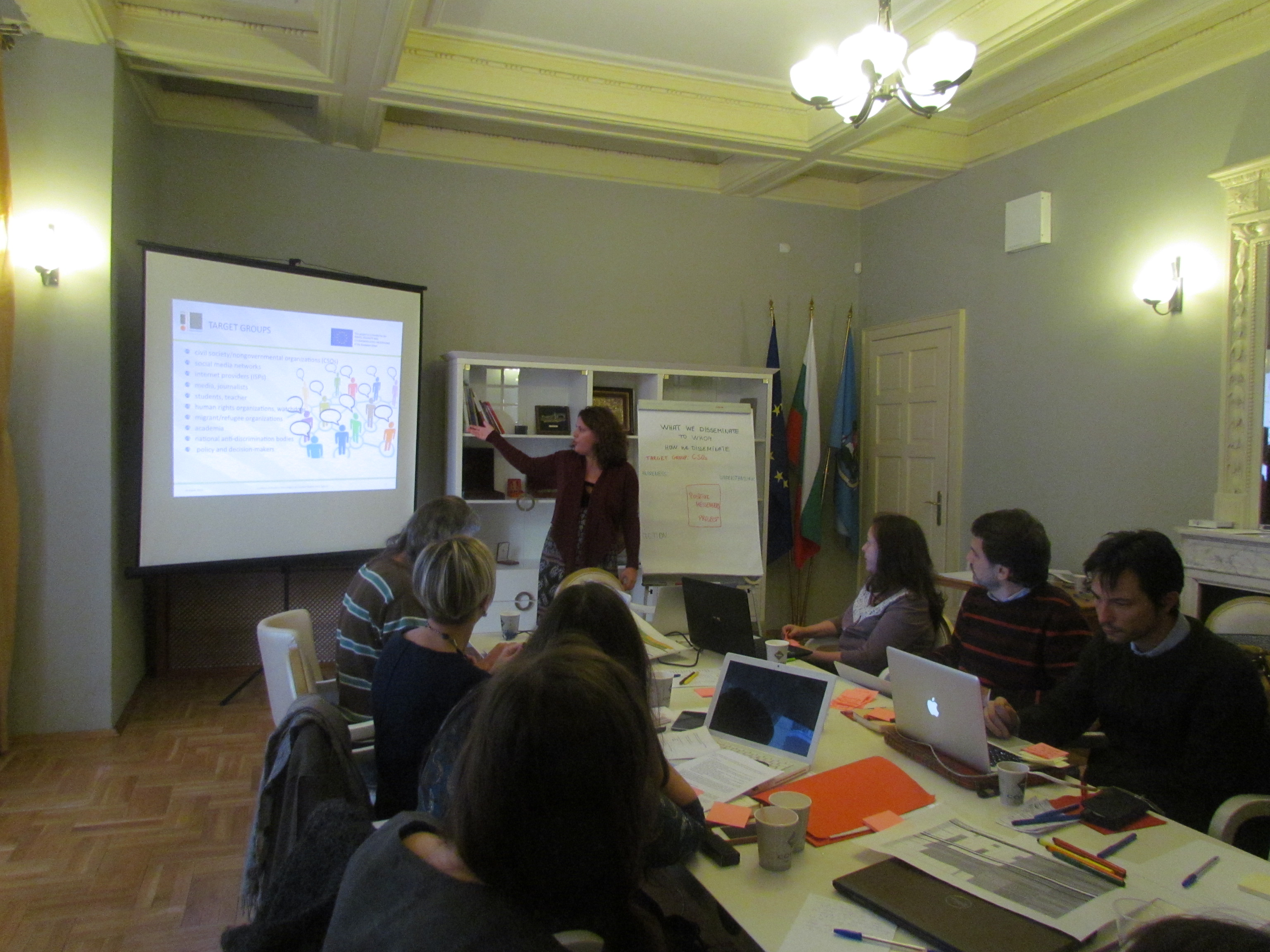 Partners from 7 countries gathered in Sofia to plan activities under Positive Messengers Project