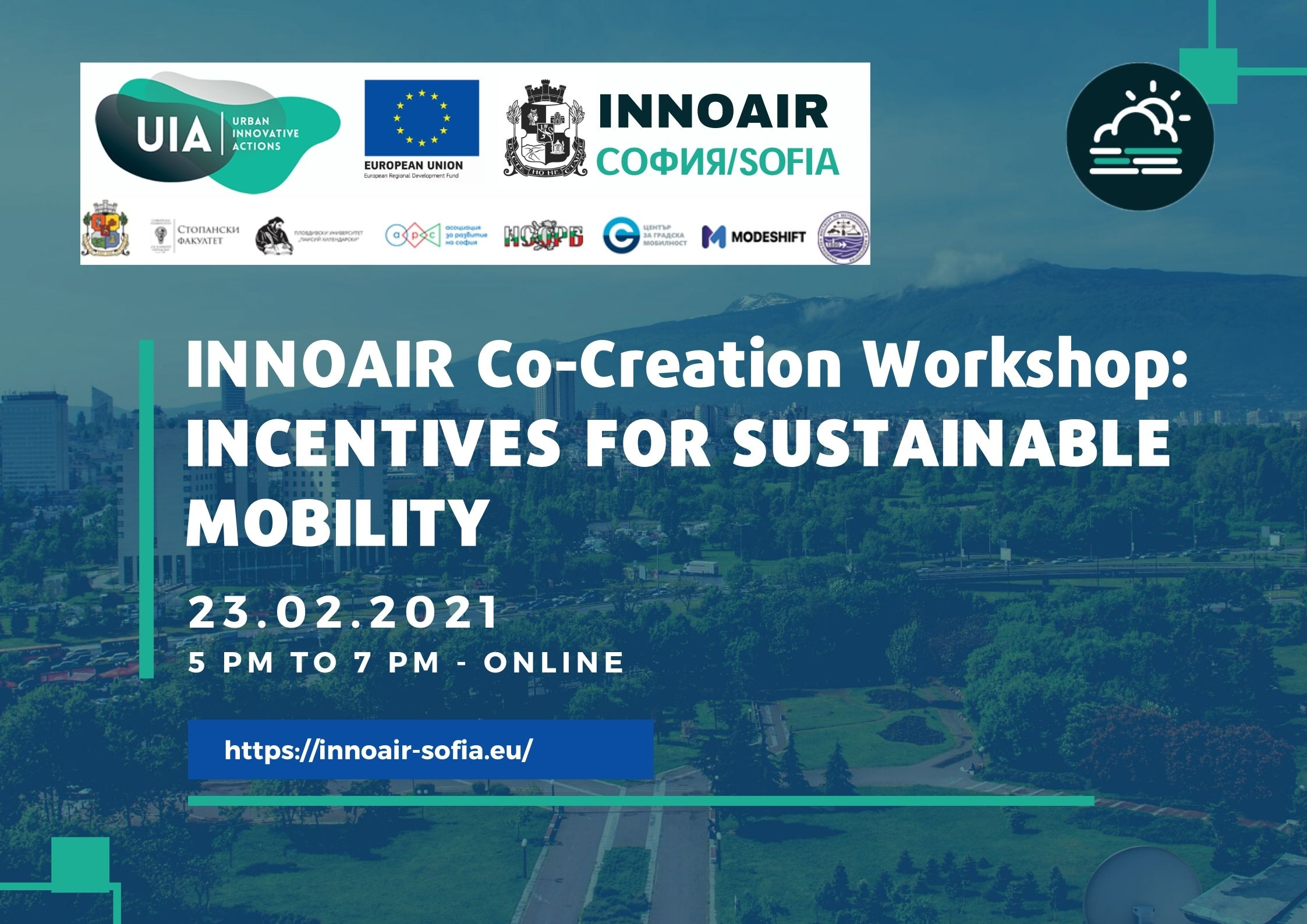 INNOAIR Co-Creation Workshop: Incentives for sustainable mobility